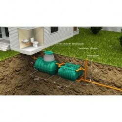 Автономная канализация Загородная Оптима