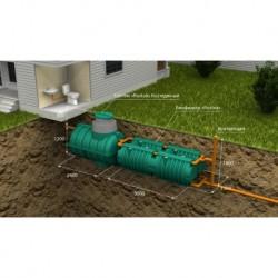 Автономная канализация Коттеджная Люкс