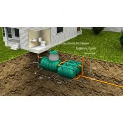 Автономная канализация Коттеджная Оптима
